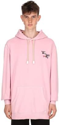 Burberry Oversize Logo Detail Sweatshirt Hoodie