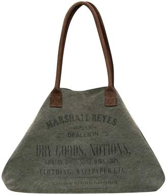Vintage Addiction Marshall Reyes Label Expandable Canvas Tote