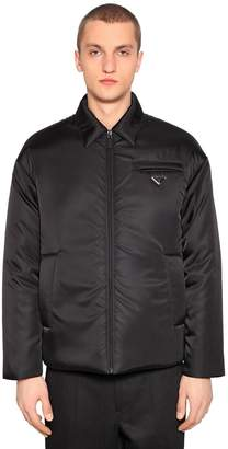 Prada Nylon Gabardine Down Jacket