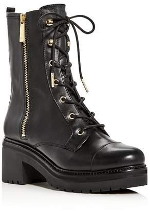 MICHAEL Michael Kors Women's Anaka Platform Combat Boots
