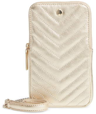 Kate Spade Amelia Quilted Leather Phone Crossbody Bag