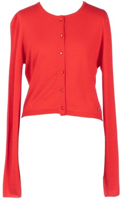 Christian Dior Red Cashmere Knitwear
