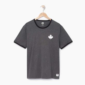 Roots Mens Canada Cabin Ringer T-shirt