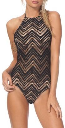 Women's Rip Curl Heart Breaker One-Piece Swimsuit $69.50 thestylecure.com