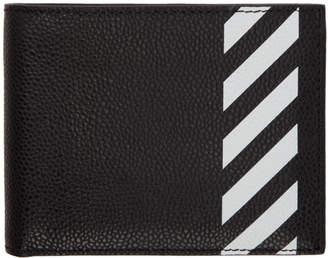 Off-White Black Diag Bifold Wallet