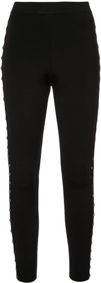 Alexander Wang studded leggings