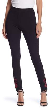Romeo & Juliet Couture Embroidered High Waist Leggings