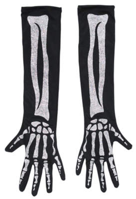 George Halloween Skeleton Gloves