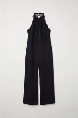 H&M H&M+ Sleeveless Jumpsuit - Black