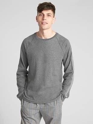 Double-Face Long Sleeve Raglan T-Shirt