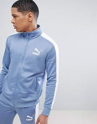 Puma Archive T7 Track Jacket In Blue 57265875
