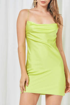 Timeless Limeade Dress
