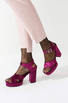 Sol Sana Cathy Crossed Platform Heel