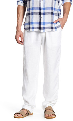 Toscano Linen Drawstring Pant $98 thestylecure.com