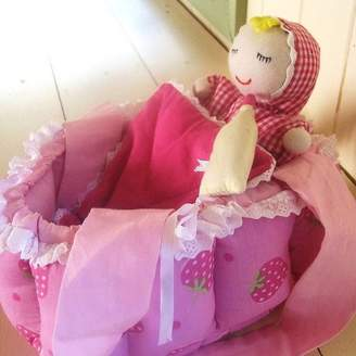 The Fairground Baby Doll With Carry Cot Cradle