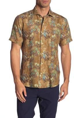 Peter Millar Vintage Safari Linen Modern Fit Shirt