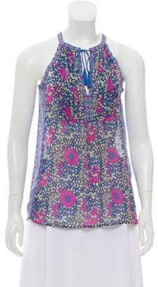 Joie Sleeveless Floral Top