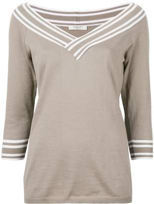 Charlott v-neck jumper