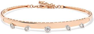 YEPREM - 18-karat Rose Gold Diamond Choker - one size