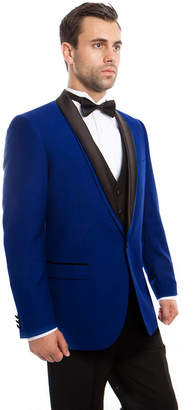 TAZIO Men's 3-PC Slim Fit Tuxedo