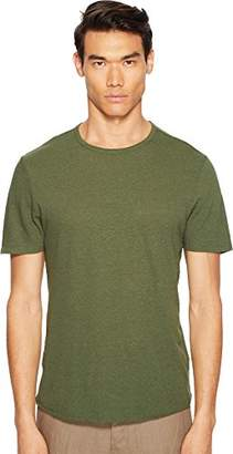Vince Men's Raw Hem Crew Neck Tee