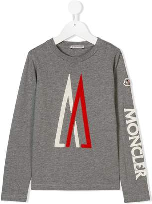 Moncler side logo T-shirt