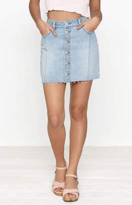 PacSun Button Front Mini Skirt