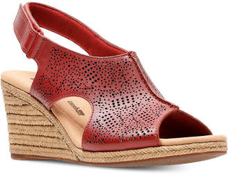 4c0c014f355e Clarks Collection Women Lafely Rosen Wedge Sandals Women Shoes