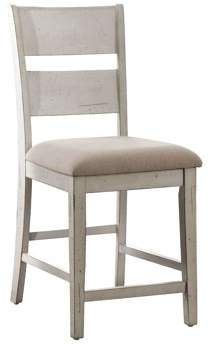 Furniture of America Tuckerson II Counter Height Ladder Back Dining Chair