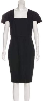 Roland Mouret Sleeveless A-Line Knee-Length Dress