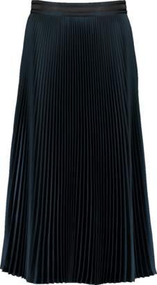 Brunello Cucinelli Metallic Pleated Skirt