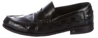 Louis Vuitton Damier Penny Loafers