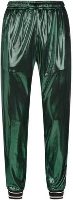 Gucci Iridescent Laminated Sweatpants