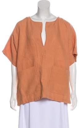 Rachel Comey Linen Short Sleeve Tunic