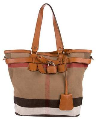 Burberry House Check Traveller Tote