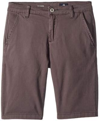 AG Adriano Goldschmied Kids The Cooper Sueded Twill Chino Shorts Boy's Shorts