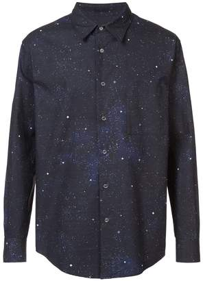 Off-White galaxy print shirt