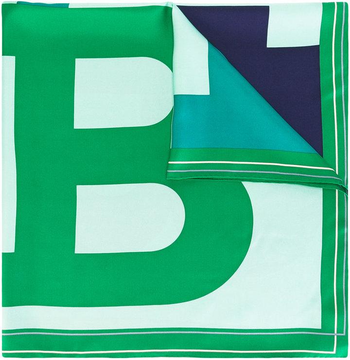 BallyBally B print scarf