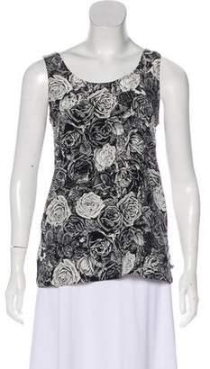 Thakoon Printed Sleeveless Top