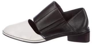 Zero Maria Cornejo Leather Round-Toe Loafers