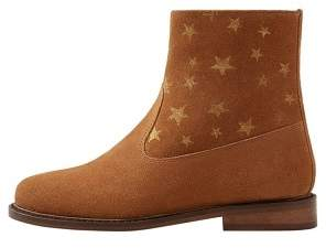 MANGO Stars suede ankle boots