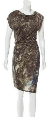 Helmut Lang Asymmertical Bateau Dress w/ Tags