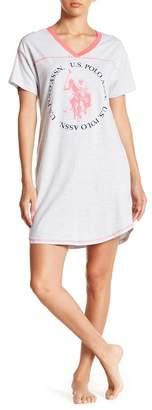 U.S. Polo Assn. Pajama Shirt Dress