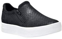 Timberland Mayliss Textured Leather Slip-On Sneakers