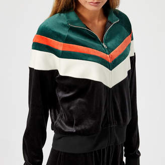 Juicy Couture Women's Colourblock Lightweight Velour Palisades Jacket