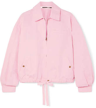 f652f31b8 McQ Cotton And Linen-blend Jacket - Pink