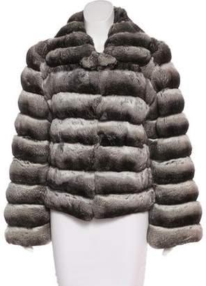 Neiman Marcus Chinchilla Fur Jacket