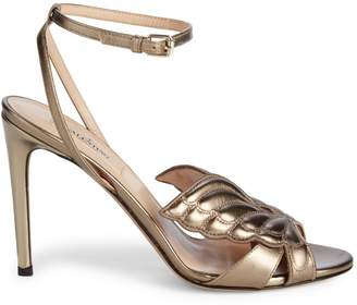 Stuart Weitzman Valentino Garavani Leather Stiletto Sandals