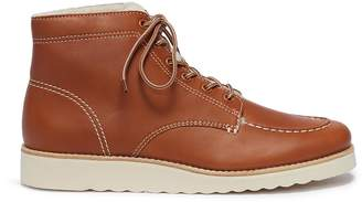 Vince 'Finley' lambskin shearling platform hiking boots