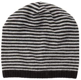 Portolano Slouchy Stripe Knit Beanie